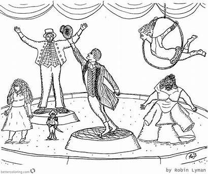 Showman Greatest Coloring Pages Drawing Fan Printable