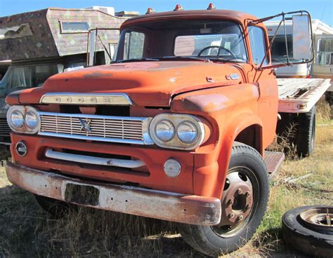 Restored, Original and Restorable Dodge Trucks For Sale
