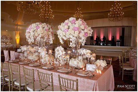 Casamento Com Rosa, Dourado E Rendas