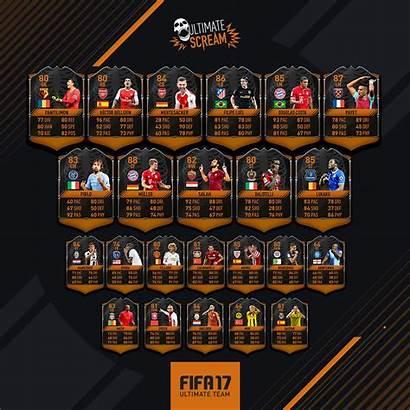 Scream Ultimate Fifa Halloween Fut Karten Team