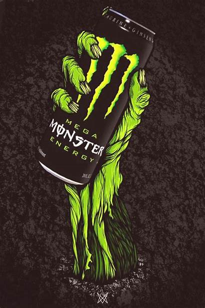 Monster Energy Brands Drink Graffiti Behance Mywebtrend