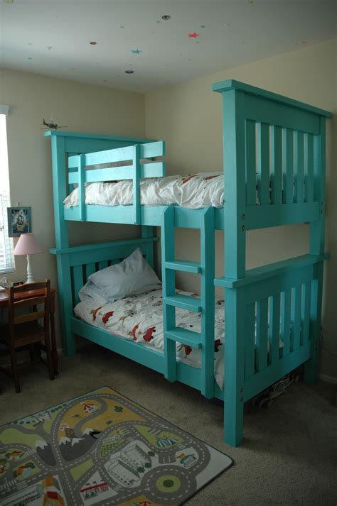bunk bed  simple bed modified    home