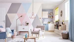 Decoration Lumineuse Murale : relooking salon des id es d co mettre de la couleur c t maison ~ Teatrodelosmanantiales.com Idées de Décoration