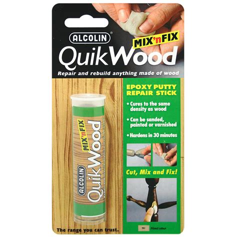 quikwood epoxy adhesives diy products alcolin