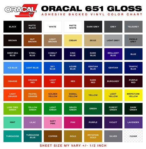 oracal 651 vinylpacks