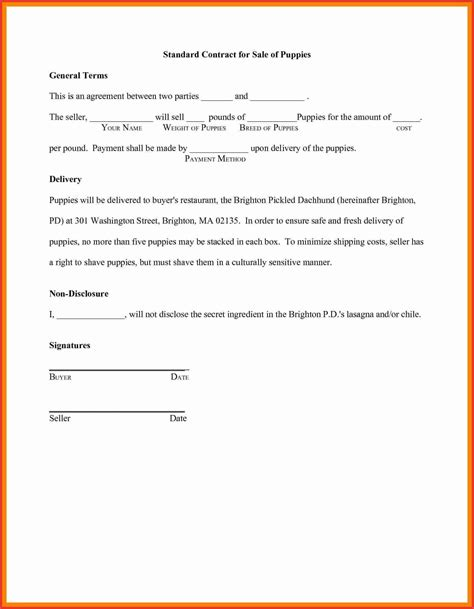 letter  agreement template   parties examples