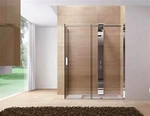douche italienne 10 bonnes idees 10 photos With porte pour douche à l italienne