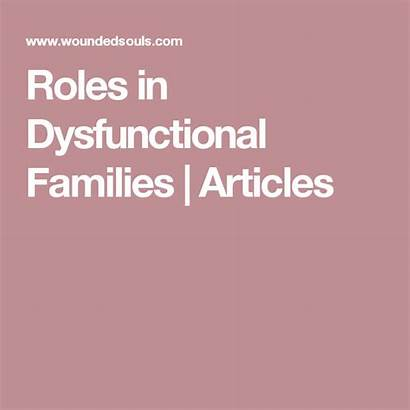 Dysfunctional Families Roles Springlane Counselling Rezept Suppe