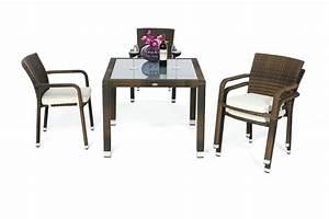 Gartentisch Und Stühle Set : rattan gartenm bel garten tisch und st hle orlando 90 mix braun ~ Bigdaddyawards.com Haus und Dekorationen