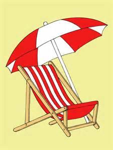 Beach Chair Canvas by Michael E Garrett Beach Chair With Umbrella