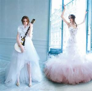 Max chaoul couture 2010 bridal collection wedding inspirasi for Rock wedding dress