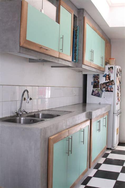 cocinas hechas  base de cemento cocinas en  pinterest