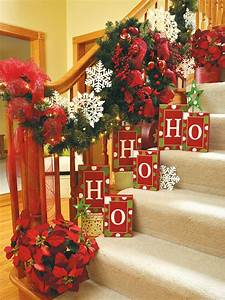 100, Awesome, Christmas, Stairs, Decoration, Ideas