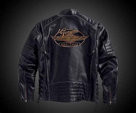 Kane Leather Harley-davidson Jacket