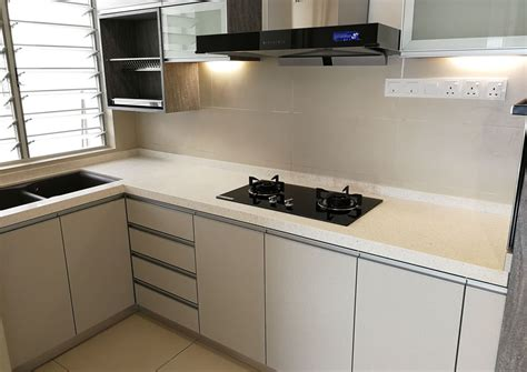 custom  solid wood kitchen cabinet malaysia supplier