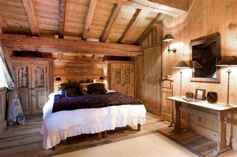 chambre bois décoration chambre bois montagne exemples d 39 aménagements