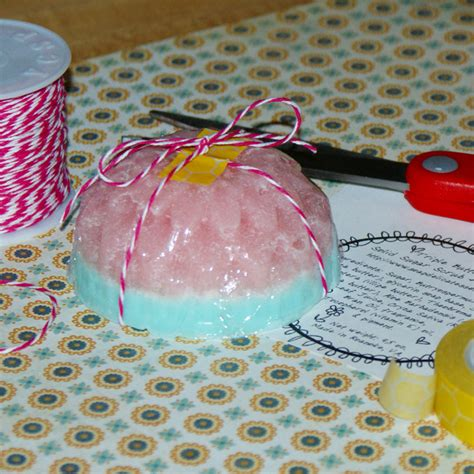 Combination Solid Sugar Scrub And Homemade Soap Recipe
