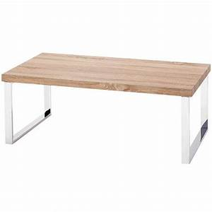 Table Basse 3 Pieds : table basse en bois pieds chrom luna achat vente table basse table basse en bois pieds c ~ Teatrodelosmanantiales.com Idées de Décoration
