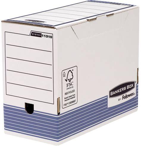 caisse bureau syst m fellowes bankers box system caisse d 39 archivage bleu