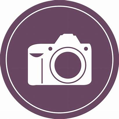 Camera Icon Clip Kamera Clipart Badge Flat