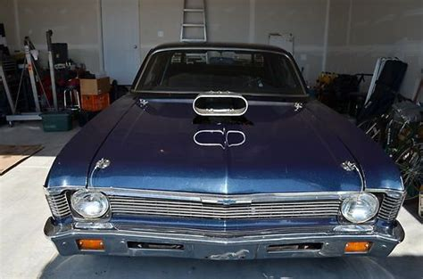 Sell Used 1971 Chevrolet Nova Drag Car In Joliet, Illinois