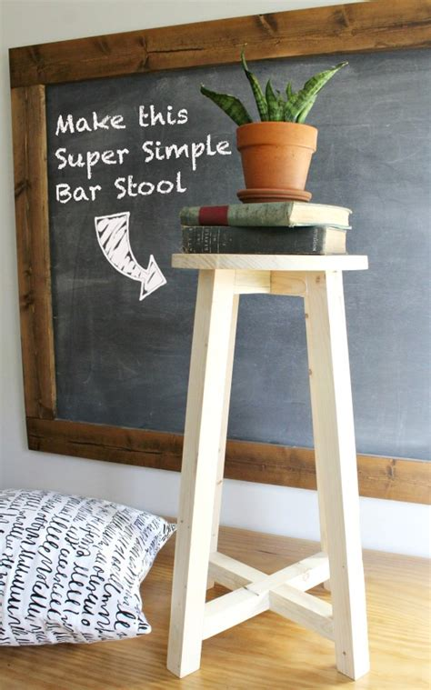 How To Make A Bar by How To Make A Simple Bar Stool Pretty Handy