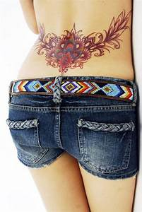 Sexy Lower Back Tattoos for Women (44) - Web Design Click