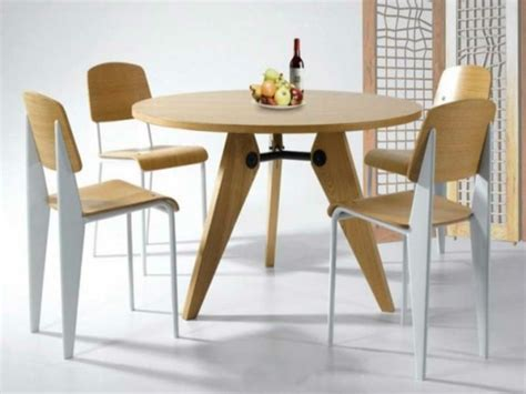 table de cuisine ikea optez pour la table ronde de design moderne