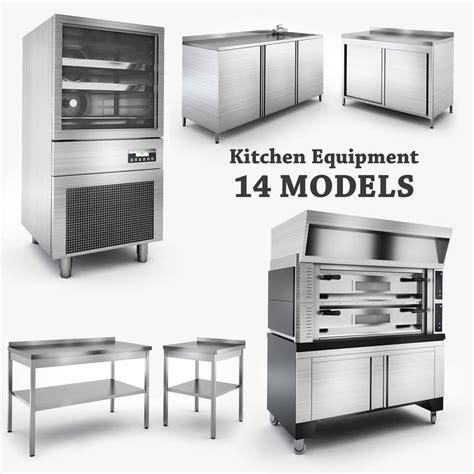 3d Kitchen Equipment Model