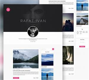 download free personal blog website template free psd With free personal website templates
