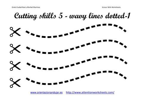 cutting worksheets cutting skills printables worksheets collection attention worksheets