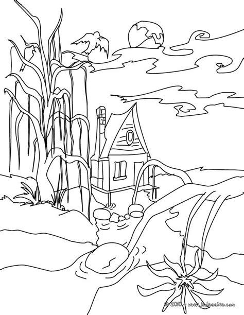 jeux de maison hantee coloriages maison hantee 224 colorier fr hellokids