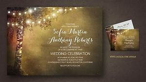 read more string lights birch tree rustic wedding With wedding invitations with trees and lights