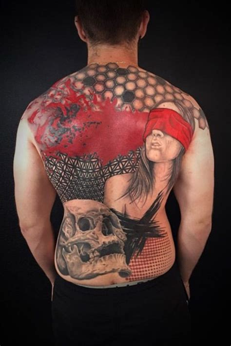Pin by Tattoodo on Red Ink Tattoos | Red ink tattoos ...