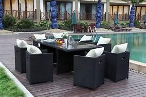 Leclerc Table De Jardin : meubles jardin design pas cher ~ Teatrodelosmanantiales.com Idées de Décoration