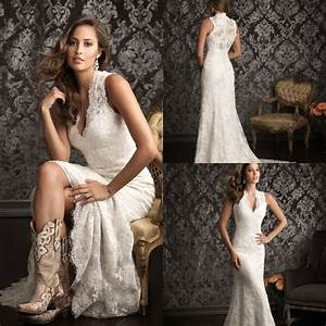 2015 spanish lace wedding dresses country western vestidos With western lace wedding dresses