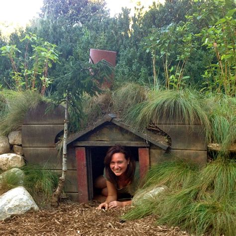 diy how to make a hobbit house in your garden pith