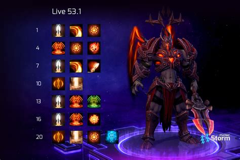 Complete list of all warpath units, their stats, special abilities, and how they work. Imperius | Talent Calculator Psionic Storm - Heroes of the Storm