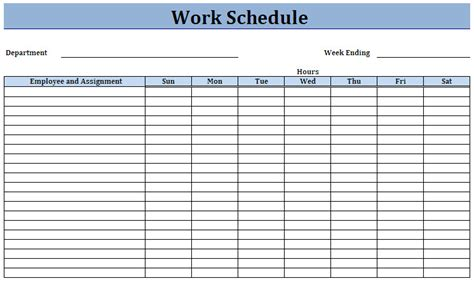 employee work schedules charlotte clergy coalition
