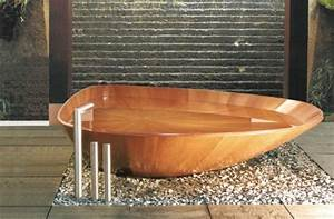 Pont De Baignoire Bois : les baignoires en bois retour en force tout sur la ~ Premium-room.com Idées de Décoration