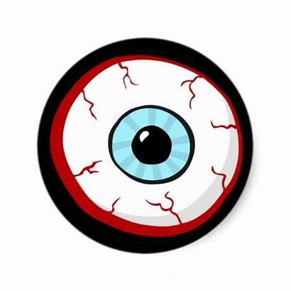 Eye Ball Cartoon Clipart Funny Bloodshot Eyes