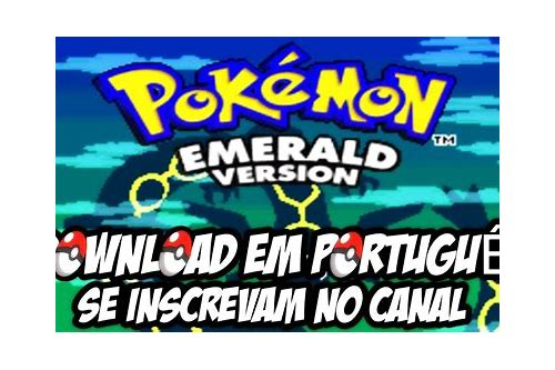 pokemon emerald gba pt br download