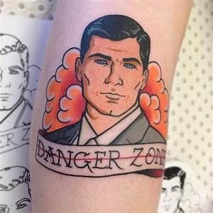 DANGER ZONE :: Archer Tattoo | art and more | Pinterest ...