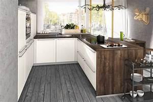 Kleine Küche U Form : k chenformen vergleich ideen f r die planung von k chenzeilen l form u form kochinseln co ~ Buech-reservation.com Haus und Dekorationen