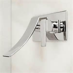 reston wall mount waterfall bathroom faucet bathroom