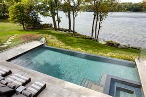 Pool Deck Contractors good looking infinity edge convention detroit modern pool