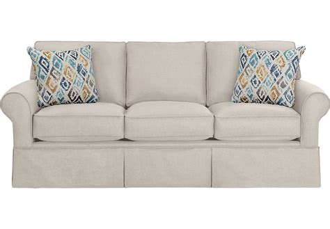 Rooms To Go Loveseat by Provincetown Linen Sleeper Sofa Sleepers Beige