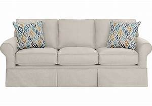 provincetown linen sofa sofas beige With sofa bed rooms to go