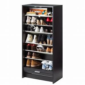 meuble a chaussure pas cherrangement dressing lyon meuble With meuble rangement chaussures pas cher