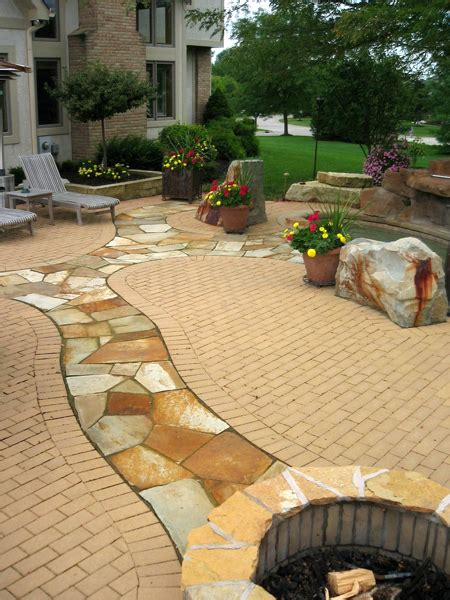 patio in set paving spellacy s turf lawn inc